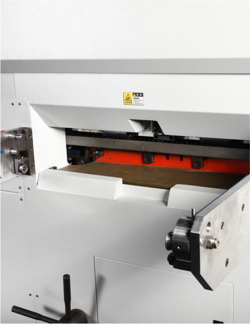 High speed and high strength Fully automatic die cutting machine with waste stripping