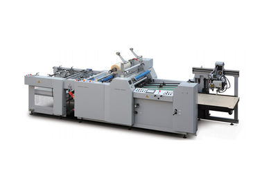 China Full Automatic Film Laminating Machine High - Speed Oil Heating supplier