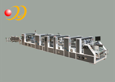 China Multifunctional Automatic Folder Gluer Machine High - Speed Carton supplier