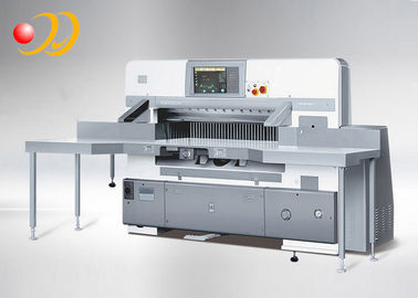 China Automatic Paper Cutting Equipment , Double Hydraulic Paper Cutting Machinery supplier