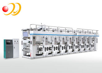 Aluminum Foil 8 Color Rotogravure Printing Machinery For Film