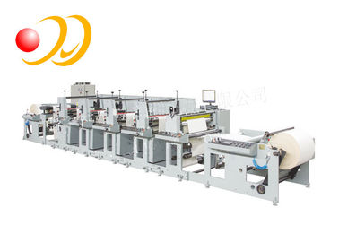 Wide Web Series Flexo Printing Machine High Efficiency Handy Control Panel
