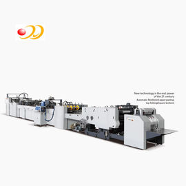 China High Performence Paper Bag Making Machine With Hand Crank Creasing System supplier