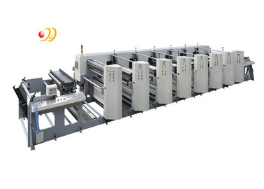 China Automatic 4 Colour Flexo Printing Machine With Photopolymer Plate Making supplier