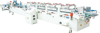 380v 50hz Box Folding Machine With Four And Six Corners Pizza Box CE Certificate