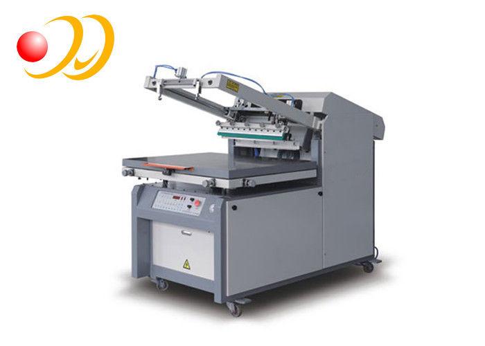 Semi - Automatic Screen Print Press Machine , High Precision