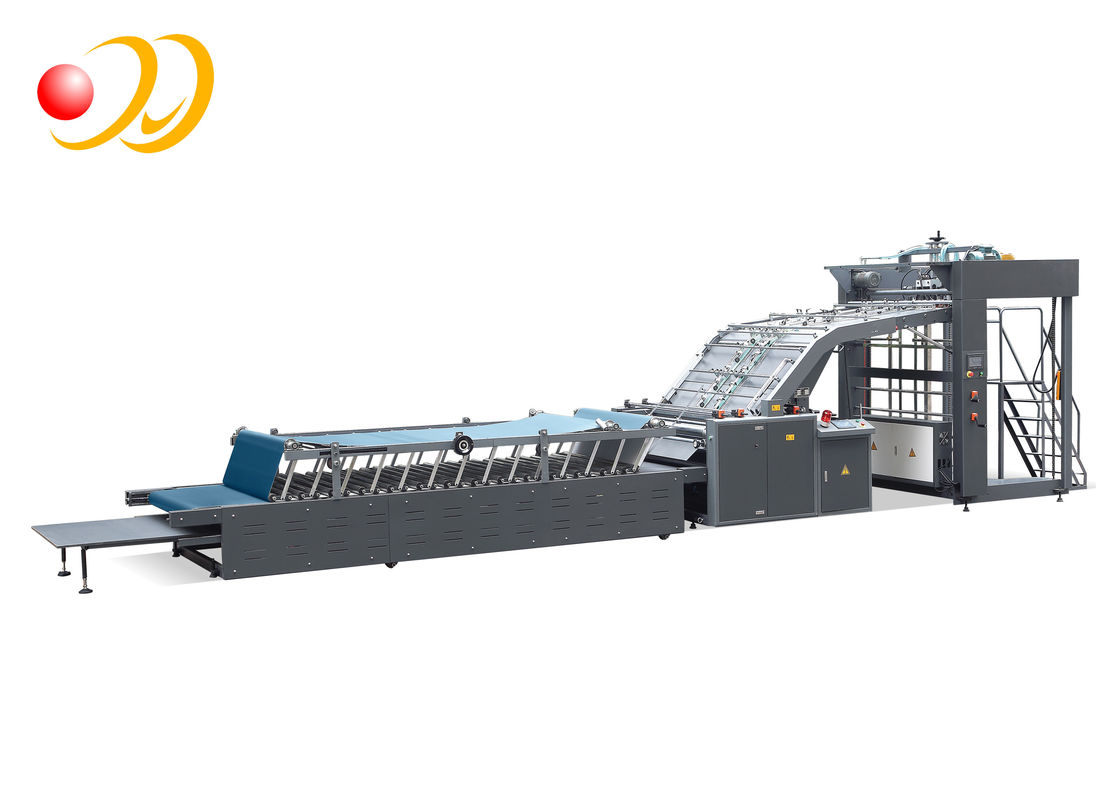 Durable Filmed Paper Manual Flute Laminating Machine Stable