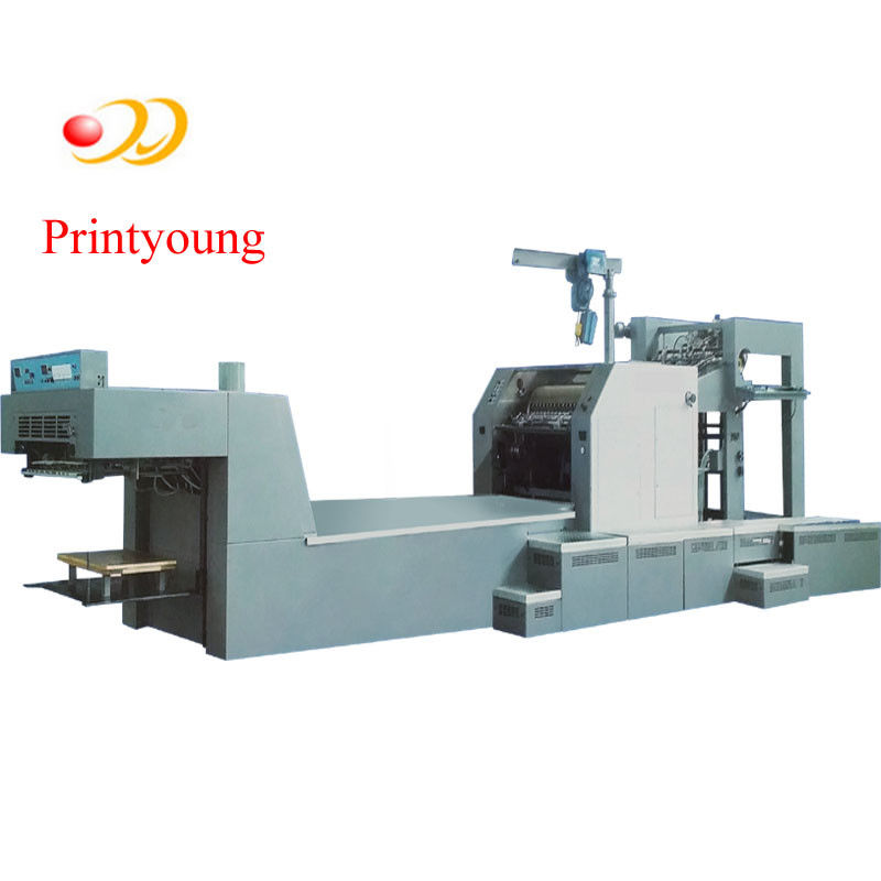 Computer Rotogravure Thermal Rotogravure Printing Machine , Multifunction Paper Roll Printing Machine