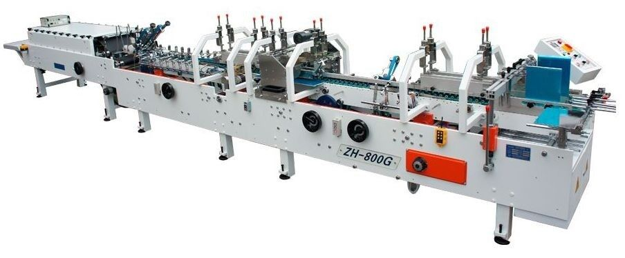 ZH-800G Automatic folder gluer with lock bottom