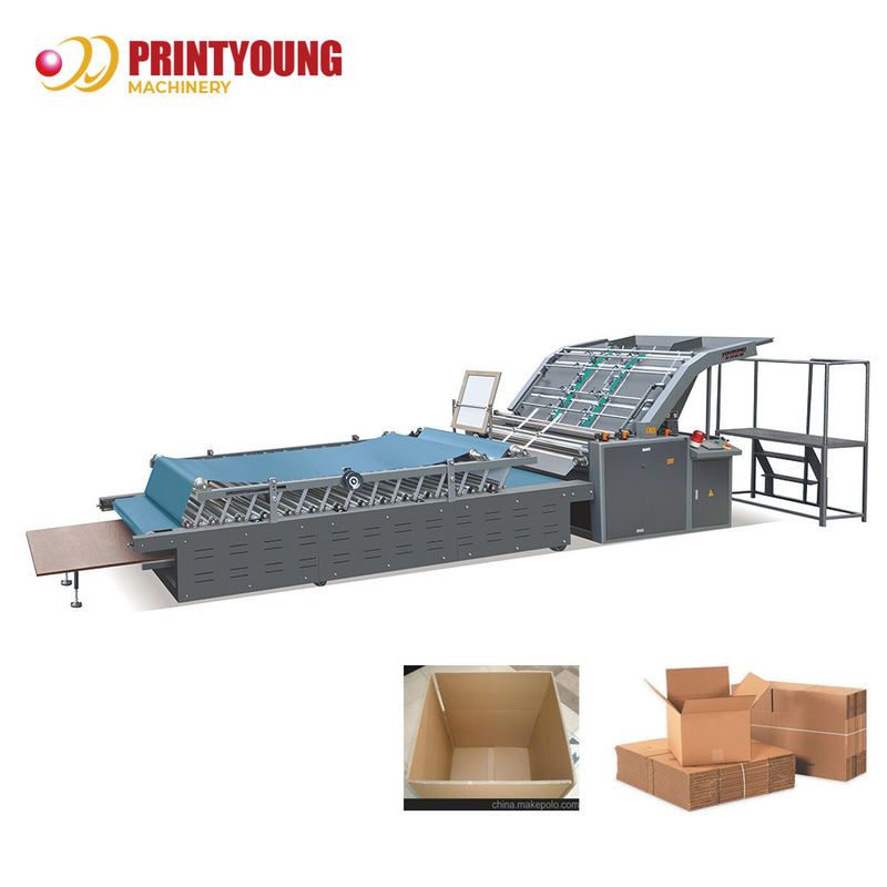 90m/Min Flute Laminating Cardboard Making Machine