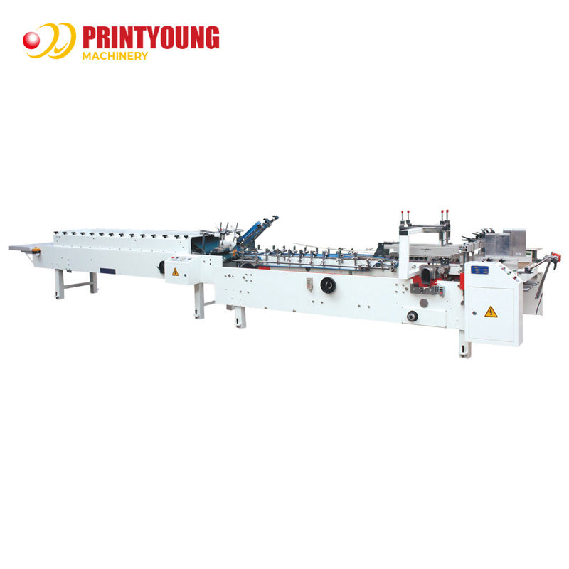 Stable 220m/min Automatic Folder Gluer Machine Easy Operation
