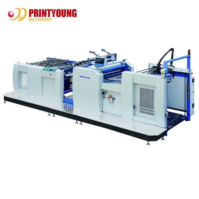 80m/Min Hydraulic Film Laminating Machine 500gsm Paper