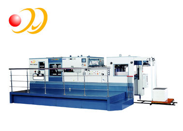 Electronic Paper Die Cutting Machine High Strength Casting With Stripping Unit