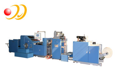 Brown Food Automatic Paper Bag Making Machine High Efficiency