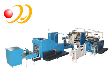 V Bottom Food Paper Bag Making Machine Roll Feeding Sheet - Feeding