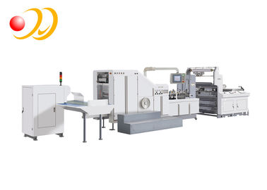 Food Brown Paper Bag Manufacturing Machine For Bread , French Fries