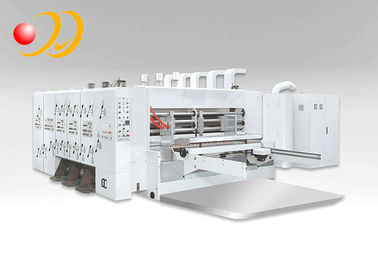 Corrugated Cardboard Machinery , Rotary Die Cutting Machine For Corrugated