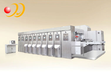 Fully Automatic Corrugated Box Making Machine Bottom Printing
