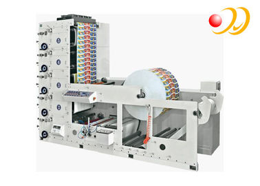 Paper Cup 6 Color Flexo Printing Machine High Speed Unwinding