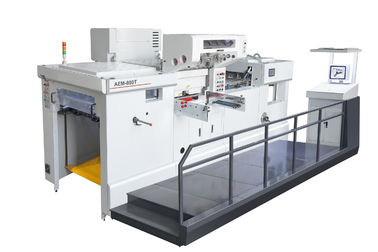Servo motor Fully automatic die cutting machine and foil stamping machine