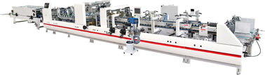 Folder gluer machine with 4&6 Corners